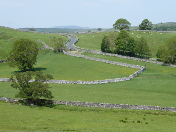 Thorpe and Burnsall from Linton