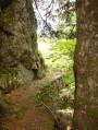 au pied des rochers d'Abraham