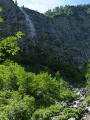 Bergaicht Wasserfall