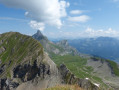 Lac de Tardevant and the summit of L'Ambrevetta and Tardevant