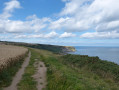 Coastal path: Cleveland Way