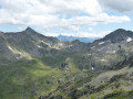 From Col des Chexaux, the way back down to the Grand St. Bernard Pass