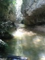 The Nesque River gorges from Monieux