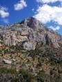 Sainte-Victoire mountain through the Clapier gap