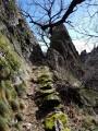 Sentier des 1000 Marches - Saut et Lac de Vezoles