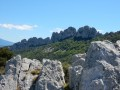 The Dentelles of Montmirail leaving from Gigondas