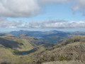 Looking north to Derwent Water from the summit