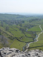 Malham from the top of Malham Cove