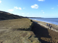 North East coastline looking north past Horden to Seaham