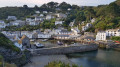Polperro by coastal path