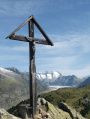 Riederhorn summit cross