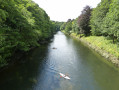 River Wear and kayaks