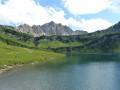 Vilsalpsee Lake, Bergaicht Wasserfall and Traualpsee